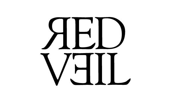 Logotipo para el grupo de música Red Veil de Donostia.  www.redveil.info   Naiara Letamendia.