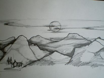 Image Result For Landscape Ideas Drawing Drawings Pinterest