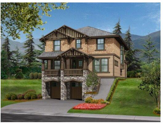 Plan 23588jd Northwest House Plan With Drive Under Garage House