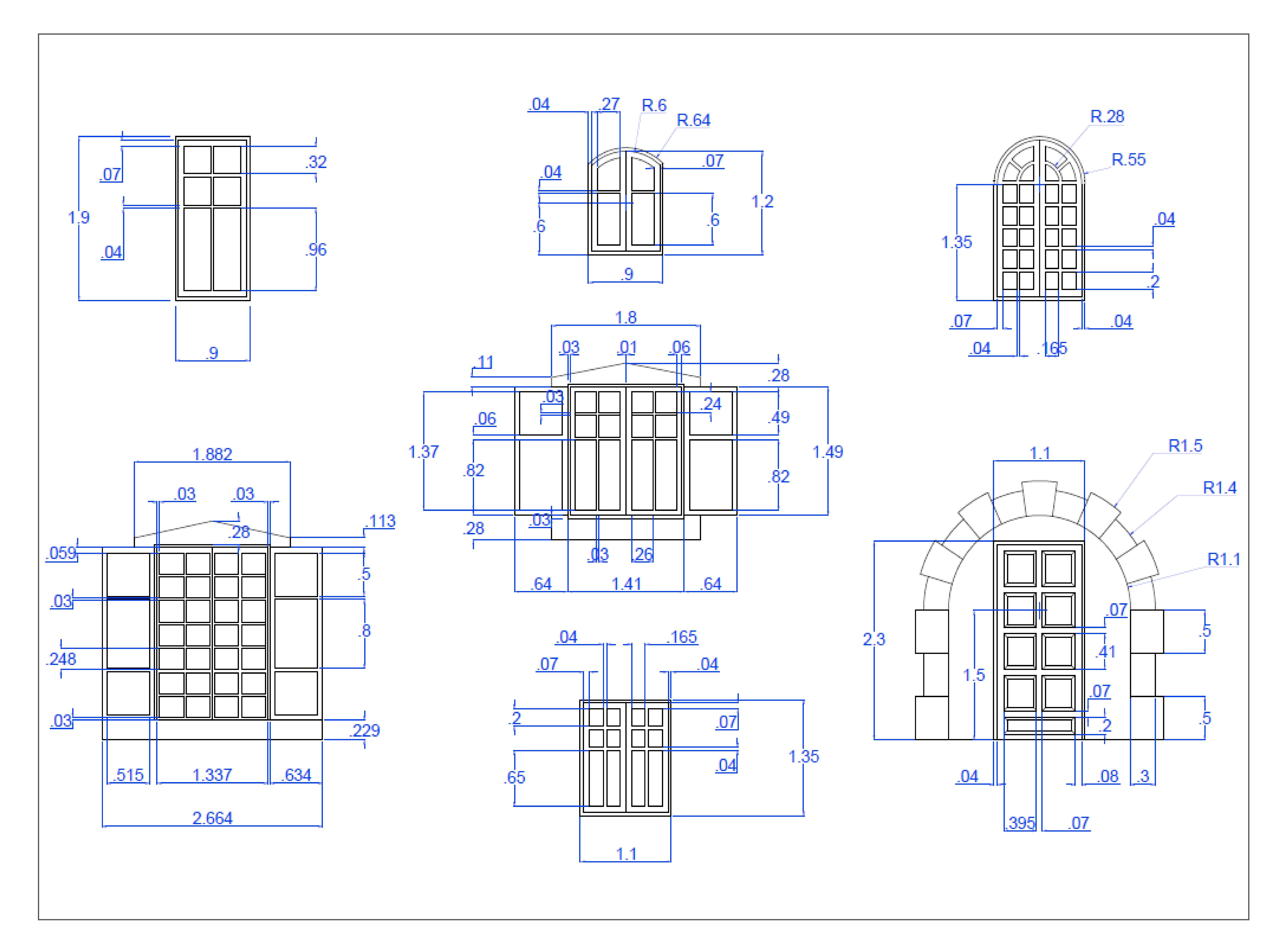 Anexo Puerta Y Ventanas Bloques Sin Medidas Autocad Diagram Architecture Gate Design