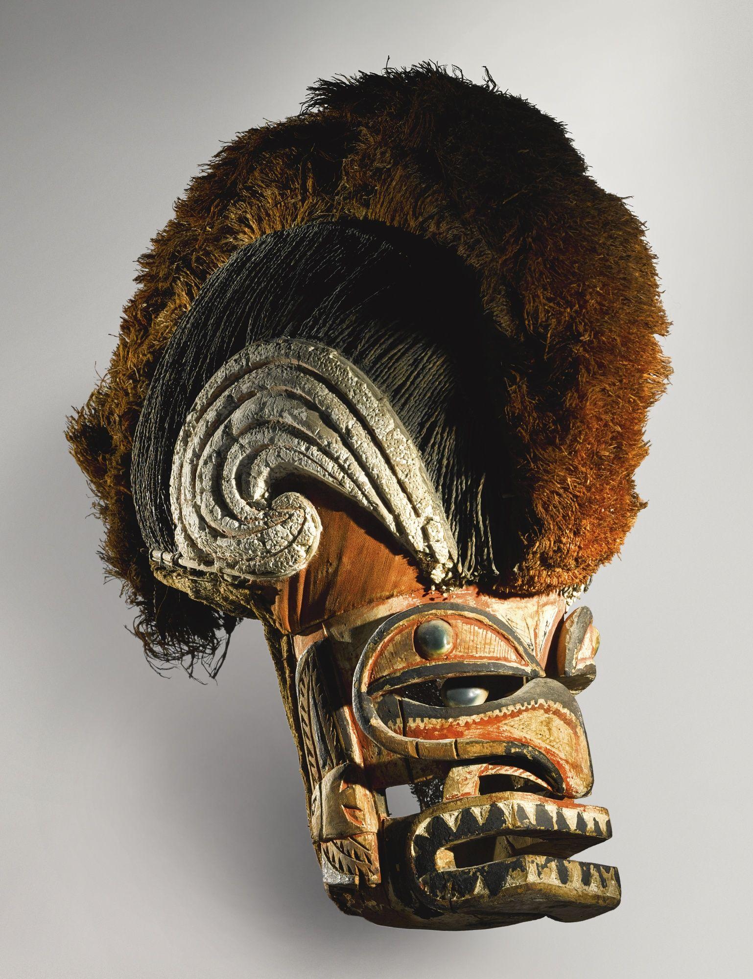 Malangan Mask, New Ireland, Papua New Guinea | Lot | Sotheby's