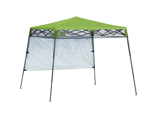Go Hybrid Slant Leg Pop Up Canopy 6 Ft X 6 Ft Bright Green Canopy Weights Beach Canopy Shade Canopy