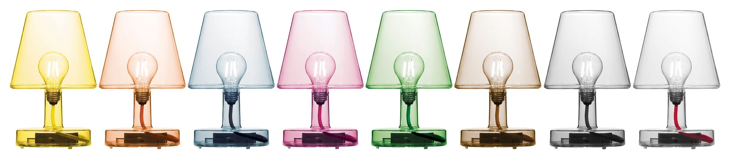 Fatboy Transloetje Table Light Transparent Table Lamp Lamp Retro Table Lamps