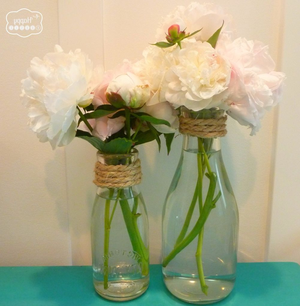 Milk bottle flower vases vase pinterest milk bottle flowers milk bottle flower vases reviewsmspy