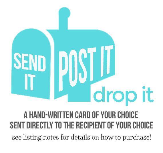 New Snark In Sara Does Shop Send It Post It Drop It Card Sending