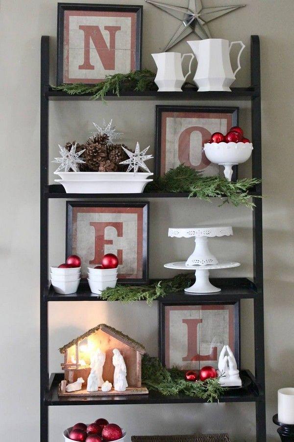 decoraci n navide a tradicional en rojo navidad