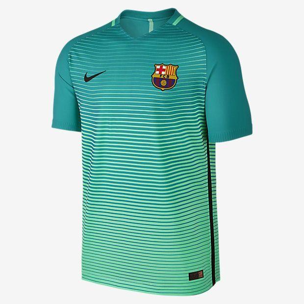 NIKE LUIS SUAREZ FC BARCELONA AUTHENTIC VAPOR MATCH UEFA CHAMPIONS LEAGUE  THIRD JERSEY 2016 17 e25842bb1a1
