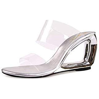 Clear Slides Sandals