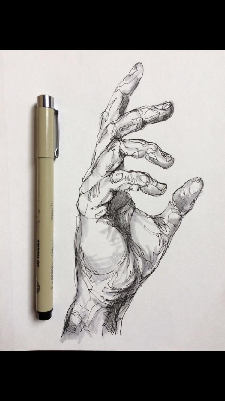 Noel Badges Pugh | manos | Pinterest | Dibujo, Anatomía y Bocetos