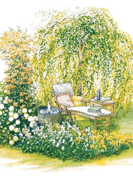 Ideen Fur Lieblingsplatze Garten Garten Landschaftsbau Garten Pflanzen