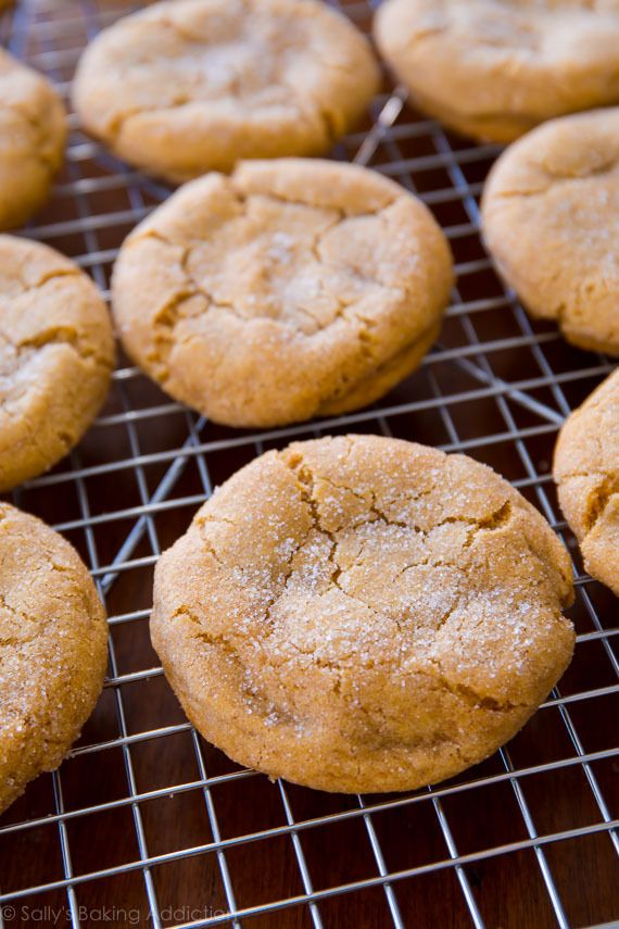 super soft and chewy brown sugar cookies no mixer required recipe on sallysbakingaddictio brown sugar cookies brown sugar cookie recipe sugar cookies recipe chewy brown sugar cookies