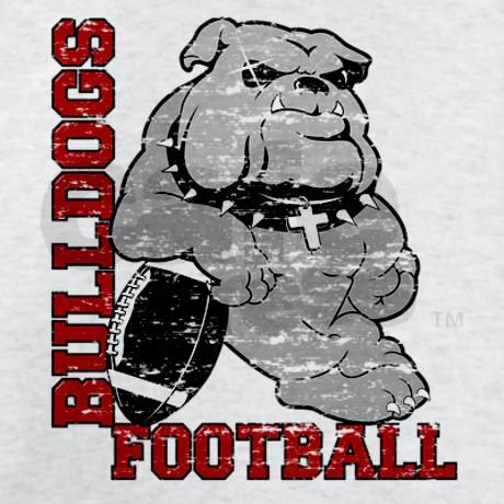 Bulldogs Fb Red Youth Football Shirt Bulldogs Football