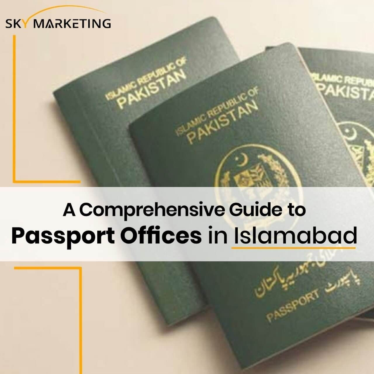 Islamabad Passport Offices Sky Marketing In 2020 Passport Office Passport Application Getting A Passport
