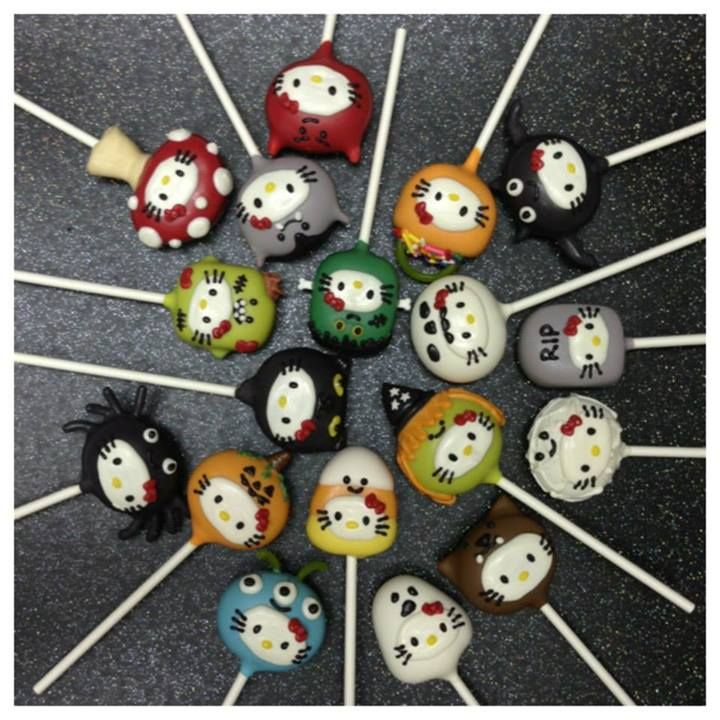 Pin by Sennise Quintero on Cakes, Cookies  Cake Pops Pinterest - hello kitty halloween decorations