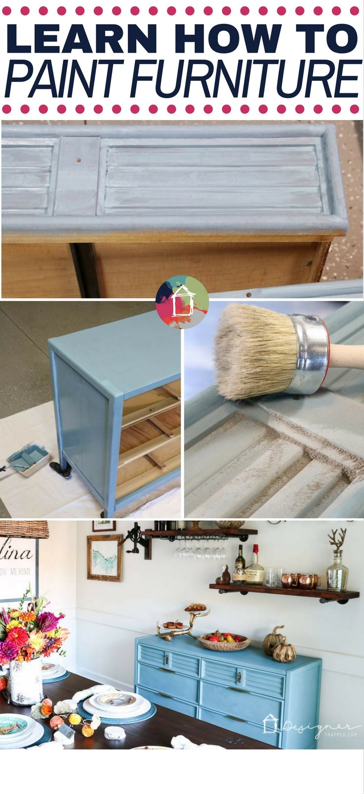 How to paint a dresser the correct way pintando for Muebles jobe
