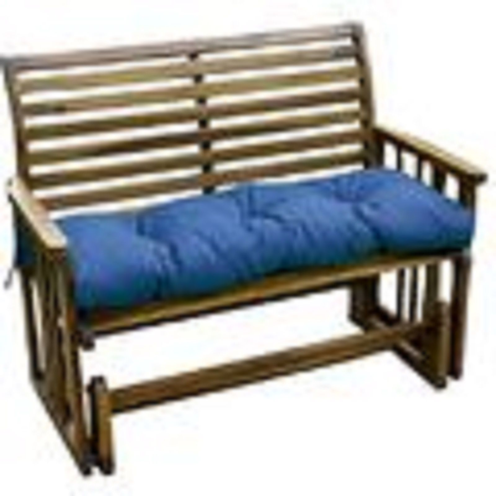 $36 from kmart Outdoor Swing Bench cushion Bench cushion measures