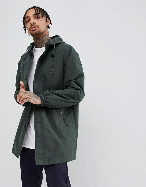 clearance sale super cheap presenting ASOS - Hooded Light Weight Parka In Forest Green - $51.00 in ...