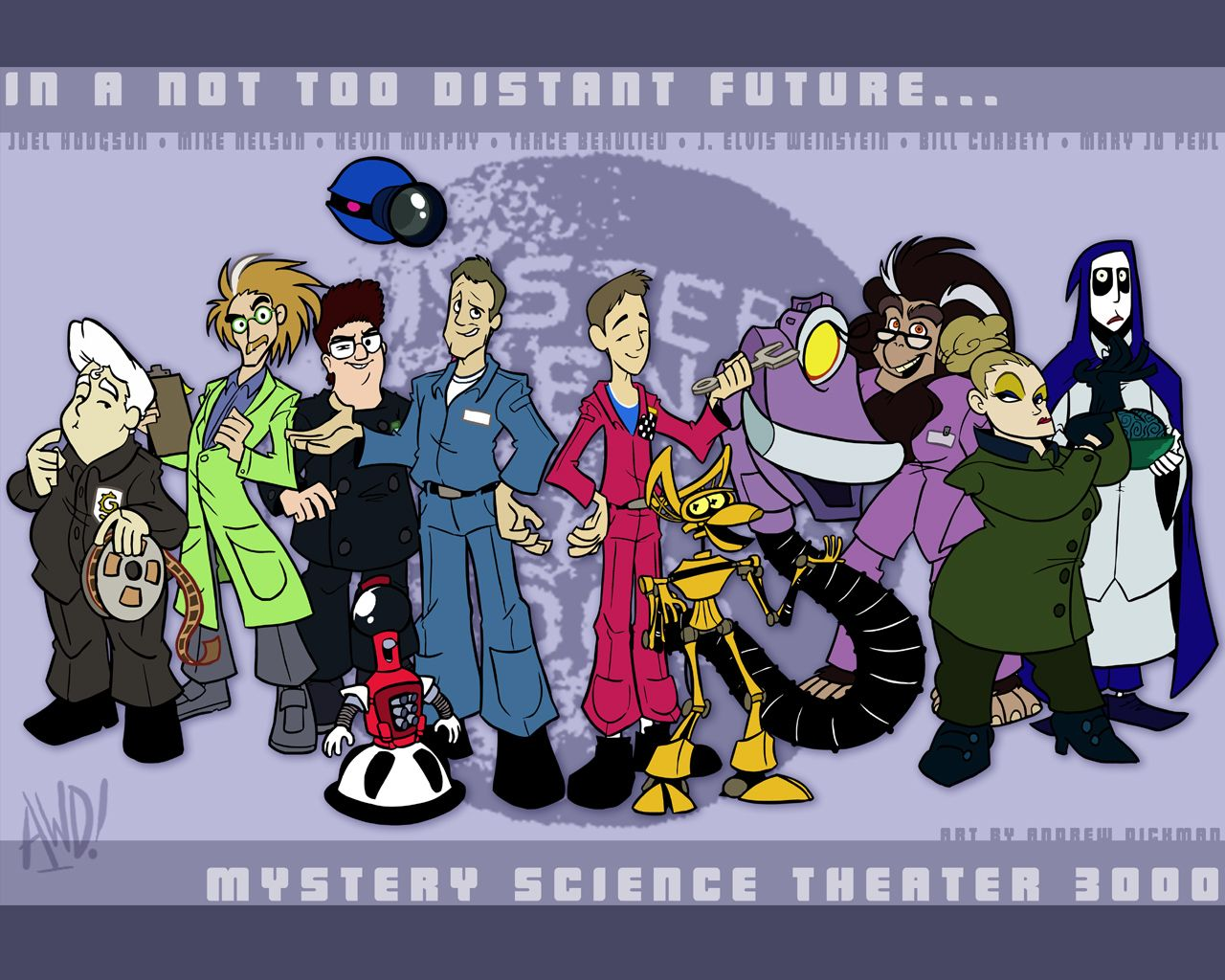 I Notice Everyone S Name Is On Here Except Mallon S Mst3k