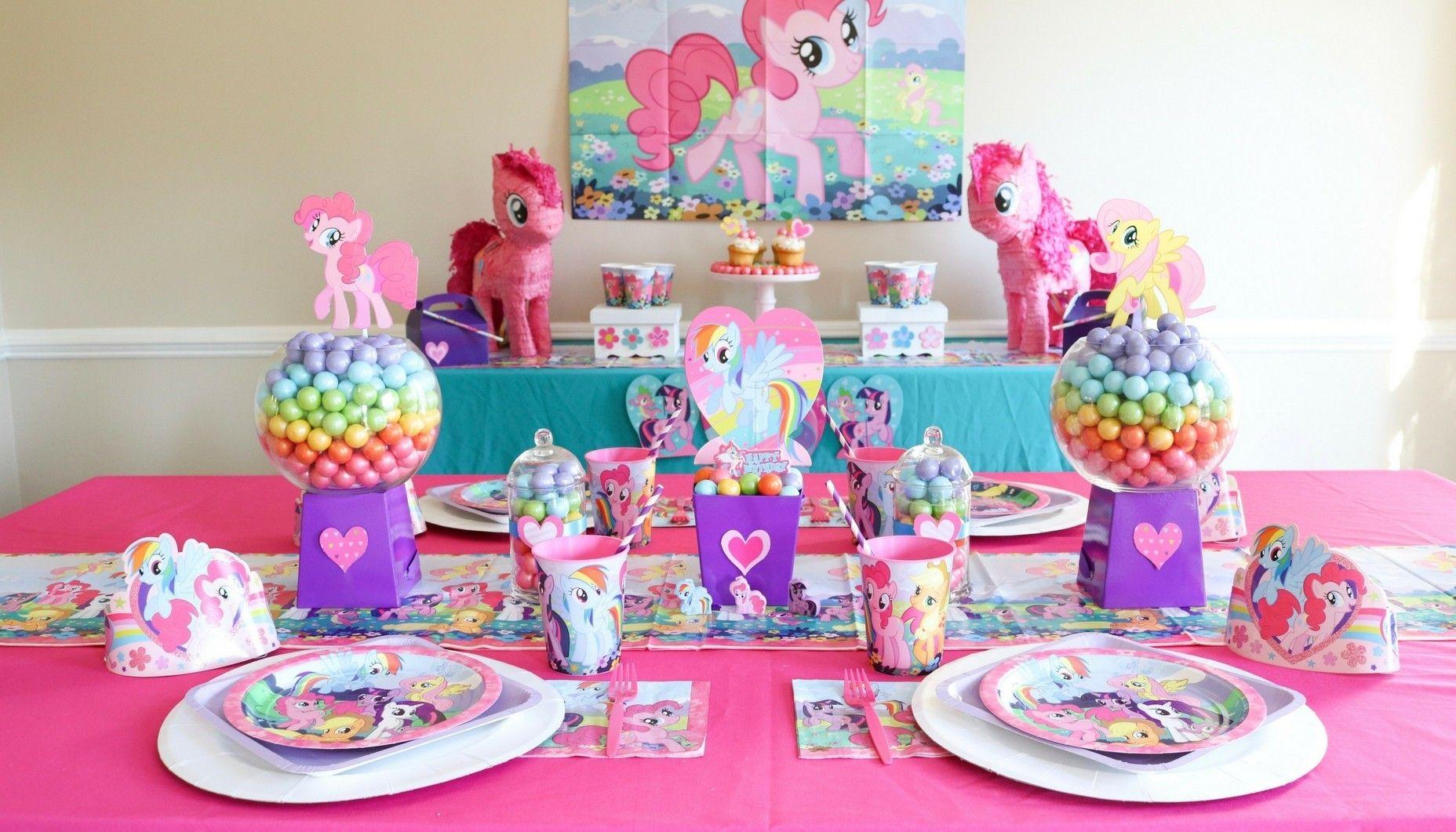 My Little Pony Party Pony Birthday Party My Little Pony
