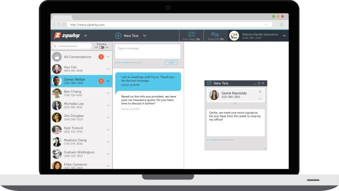 Zipwhip nabs $9M from Microsoft  others to let landlines send and receive SMS texts
