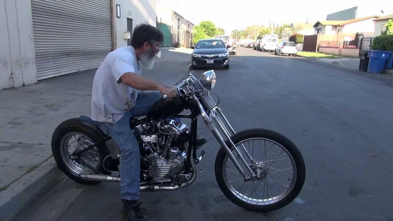 Hunting Harley's. 1940 EL Knucklehead bobber part 2