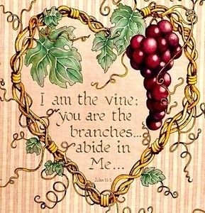 Bible Verse Heart Vine Fabric Panel New Scripture Artwork Bible Art Journaling Wallpaper Bible