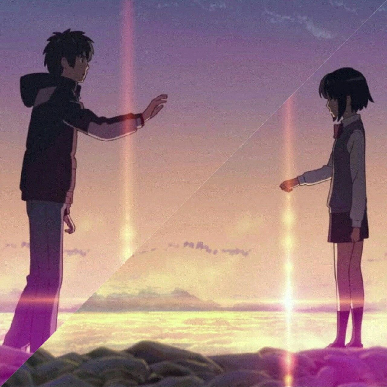 Kimi No Na Wa Pósteres de libros, Películas de anime