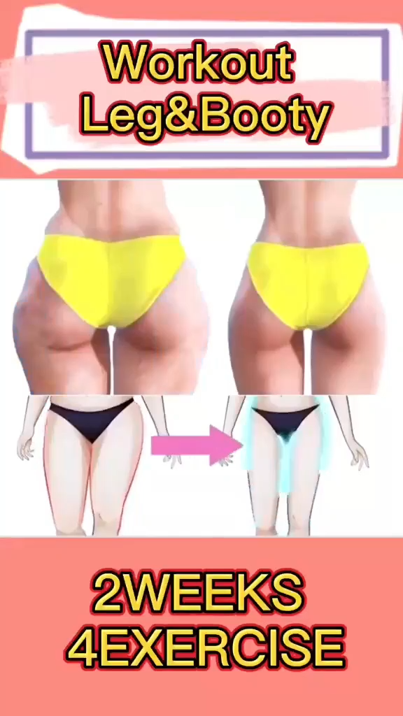 Home Workout Leg&Booty 😍🍑