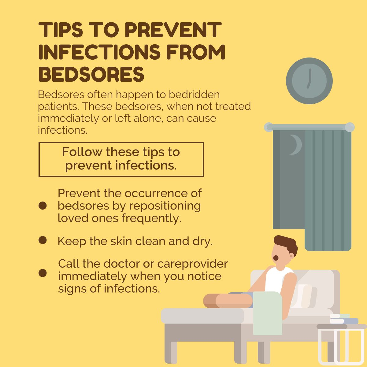 Tips to Prevent Infections from Bedsores Bedsores
