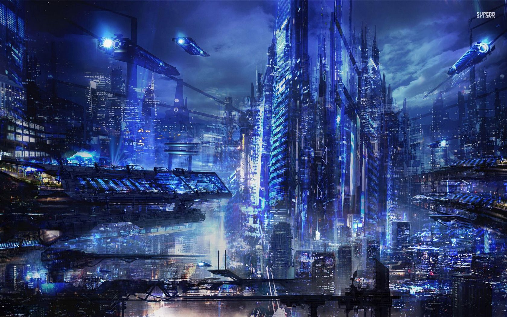 cyberpunk metropolis wallpaper - photo #36