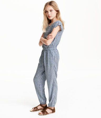 b935bebc2b4 Patterned Jumpsuit H m Fashion