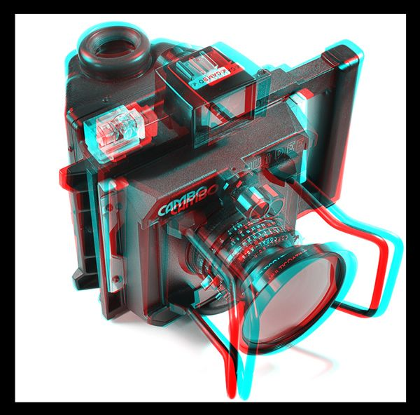 3 D Glasses Needed To See Picture Properly Anaglyph Stereoscopic 3d Effect With Anaglyph Images Livres Objet Photographie Photos