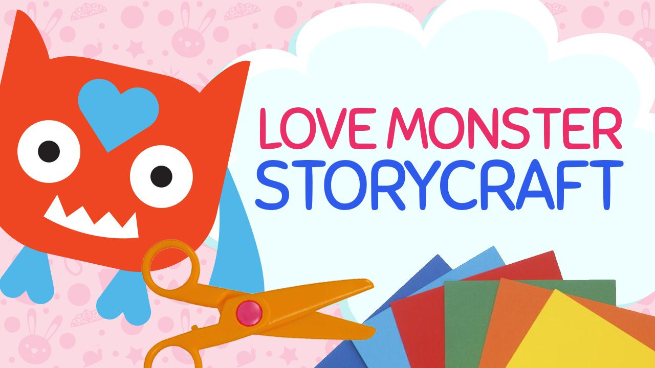 Create A Love Monster Valentine Craft Using My Free To Print Craft