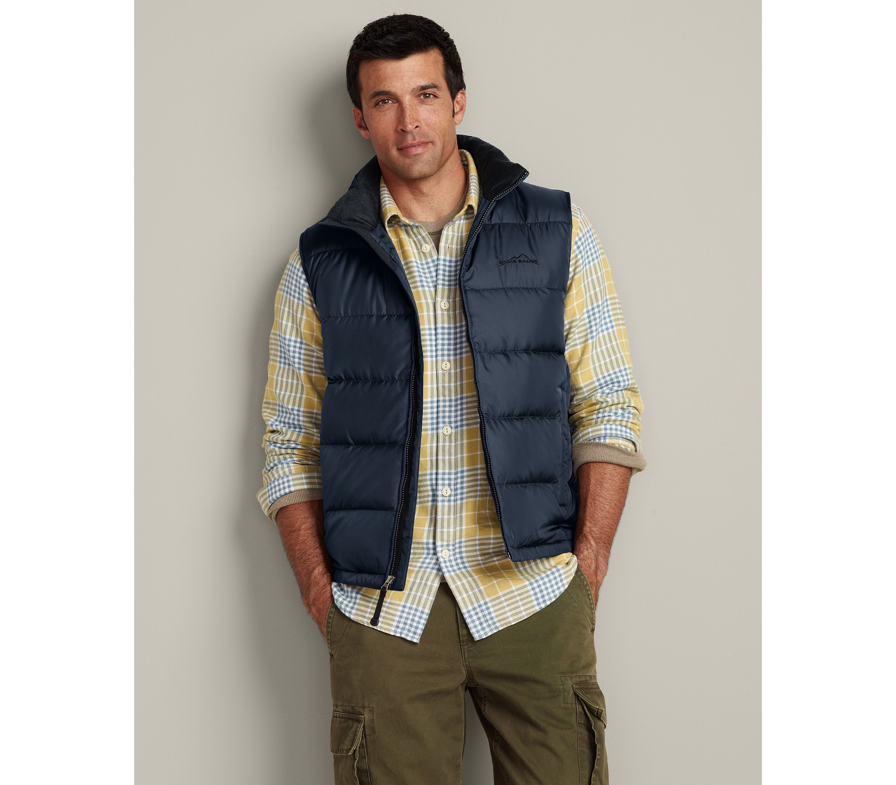 Classic Down Vest Eddie Bauer Large Tall, Brooke or