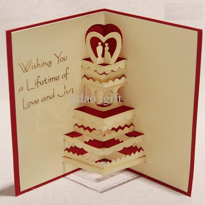 Gallery For > How To Make Handmade 3d Greeting Card ...