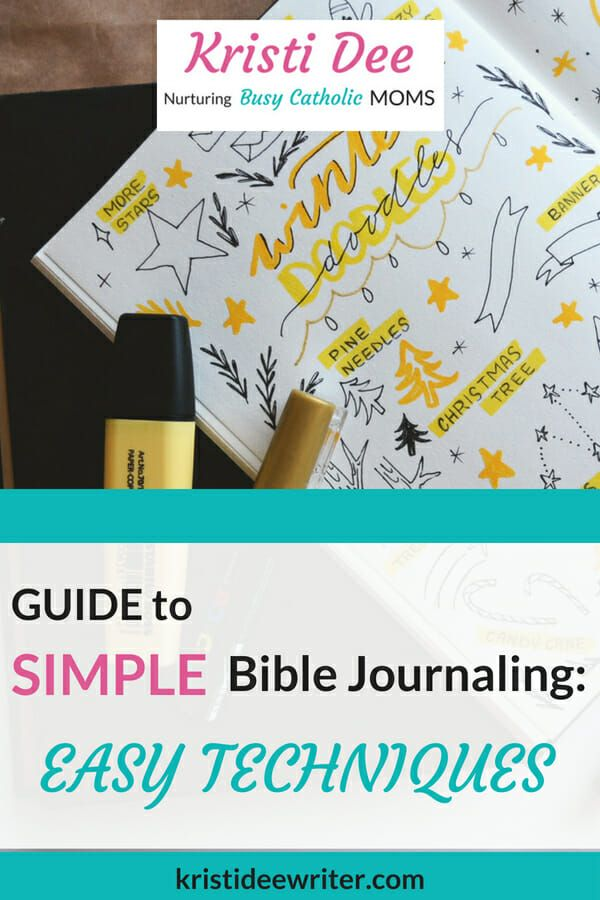 Guide To Simple Bible Journaling Ideas Journal Journal The