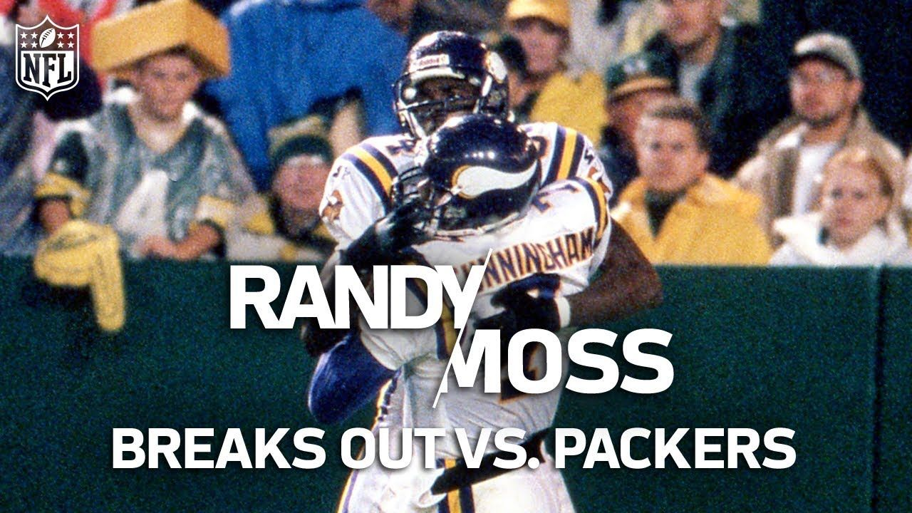 Rookie Randy Moss Shreds The Packers Defense Puts The Nfl On Notice In 2020 Nfl Highlights Nfl Packers
