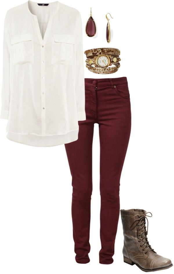 Skinny Pants And Flats Polyvore - Google Search | Fall Into Winter | Pinterest | Skinny Google ...