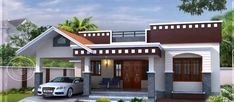 1405 Sqft Beautiful 3 Bedroom House Design with Free Plan