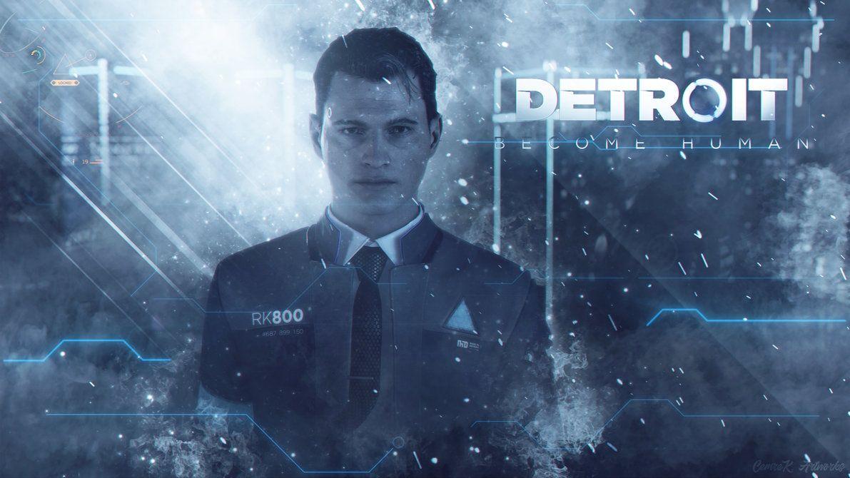 Detroit Become Human Wallpaper By Cemreksdmr In Detroit Become Human Connor Detroit Become Human Detroit Become Human Game