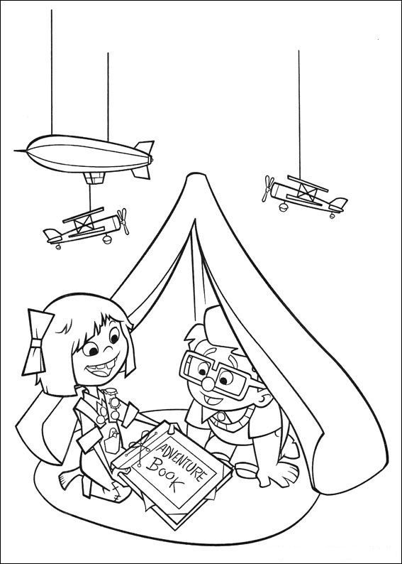 Coloring Page Up Up Disney Coloring Pages Coloring Pages For