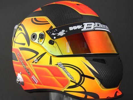 817fe8a3 Bell RS3 Pro N.Stanevics 2012 by B-Design | Helmets | Helmet, Racing ...