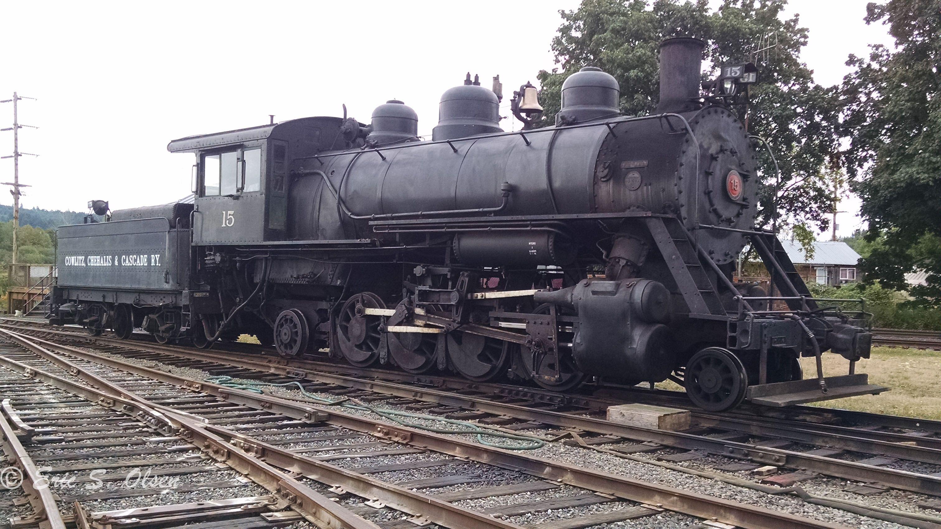 Cowlitz, Chehalis & Cascade RR 15 Baldwin 4406 built in
