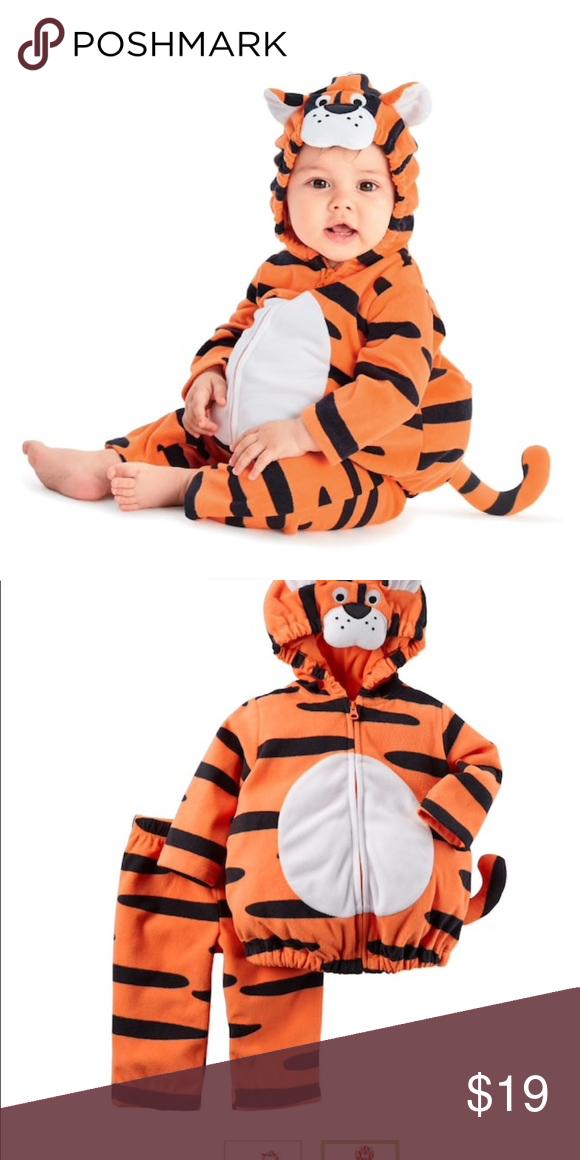 Carteru0027s tiger costume 2 piece $19. One size  sc 1 st  Pinterest & Carteru0027s tiger costume 2 piece $19. One size | Tiger costume Tigers ...