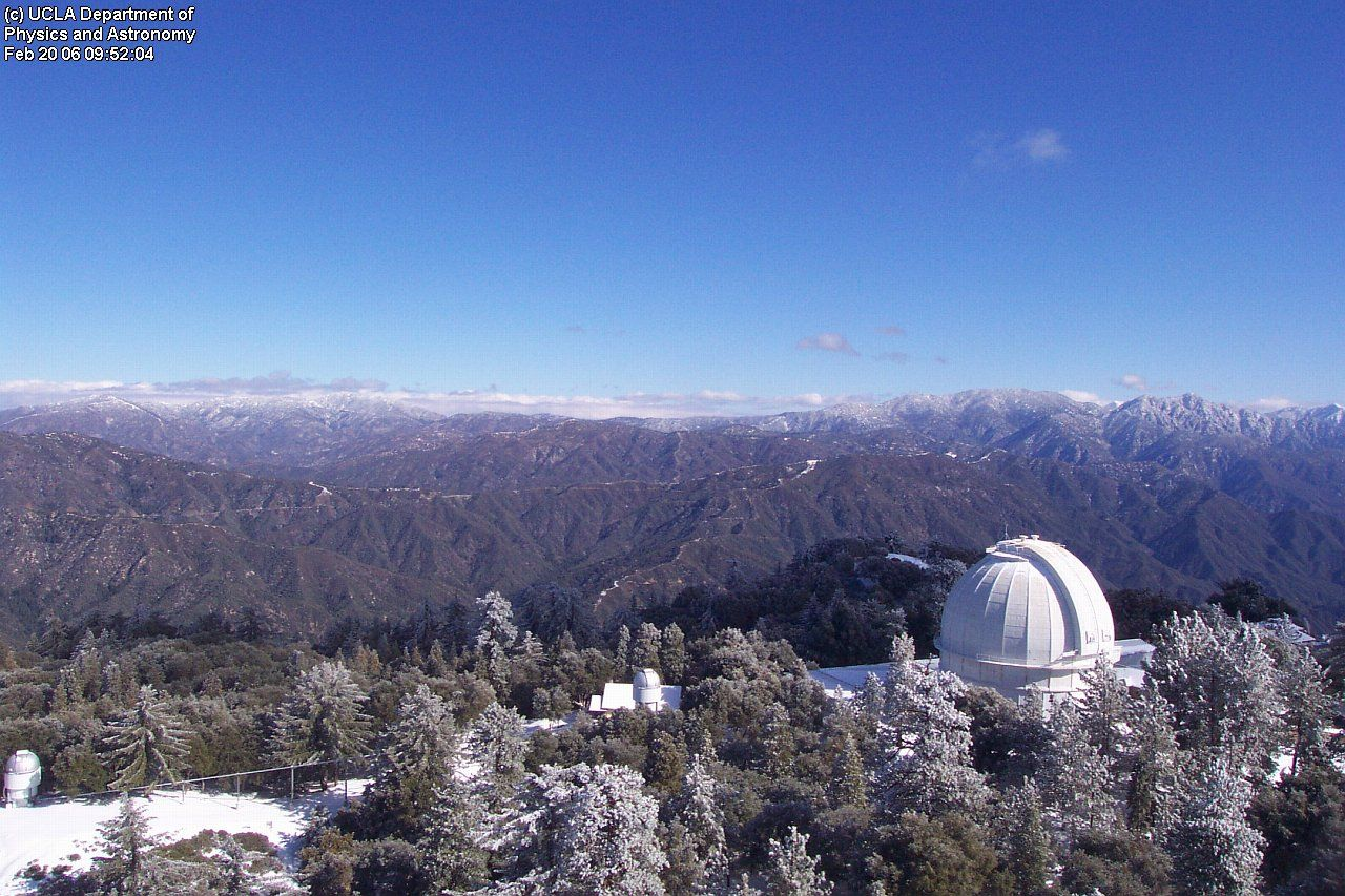 Mt Wilson Observatory Angeles National Forest National Forest City Of Angels City House