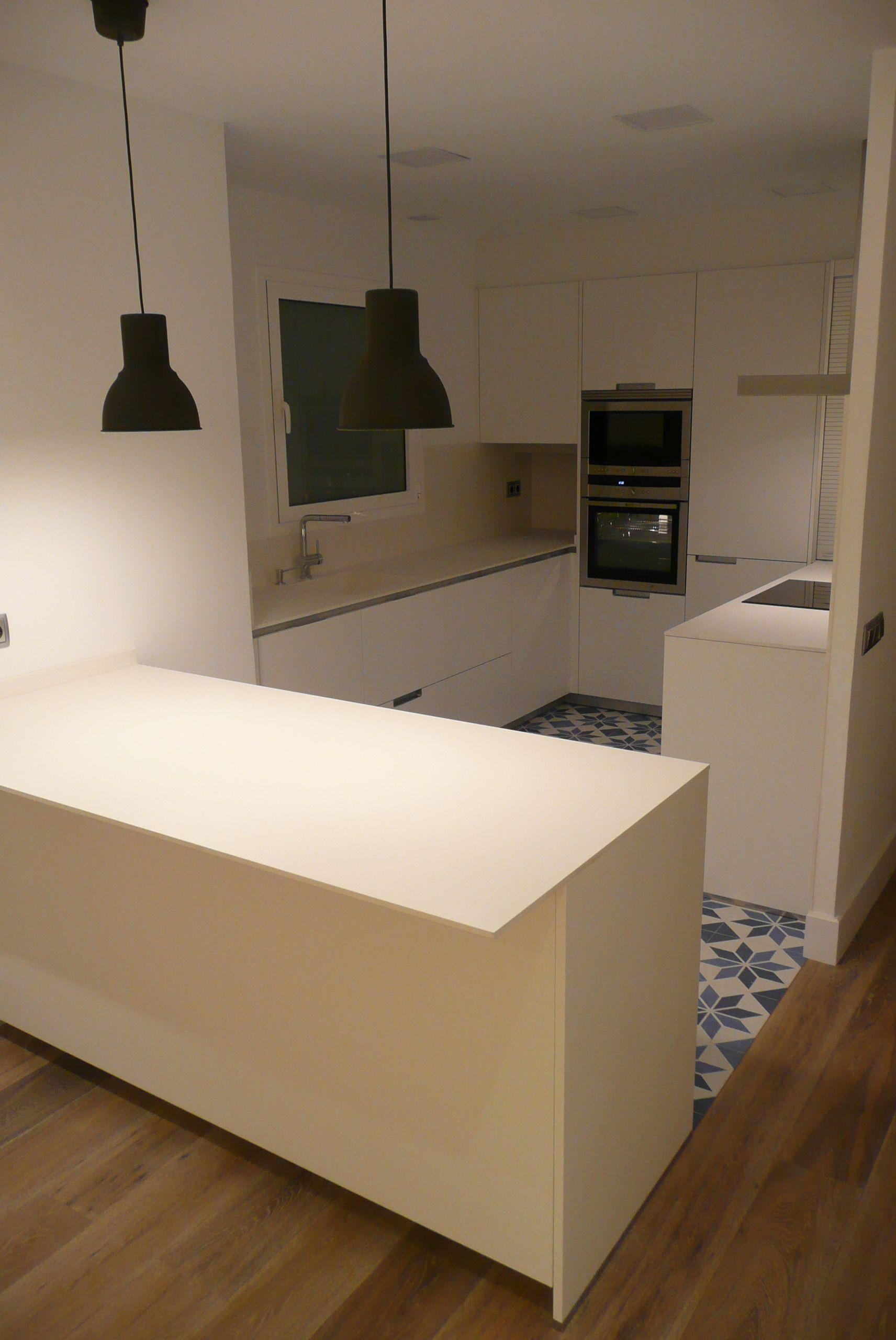 Moderno Gloss Imágenes Cocina Blanca Ideas Ornamento Elaboración ...