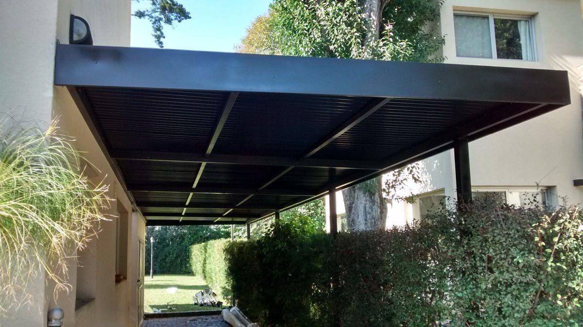 Techo de chapa para cocheras techos para galerias - Techo para pergola ...