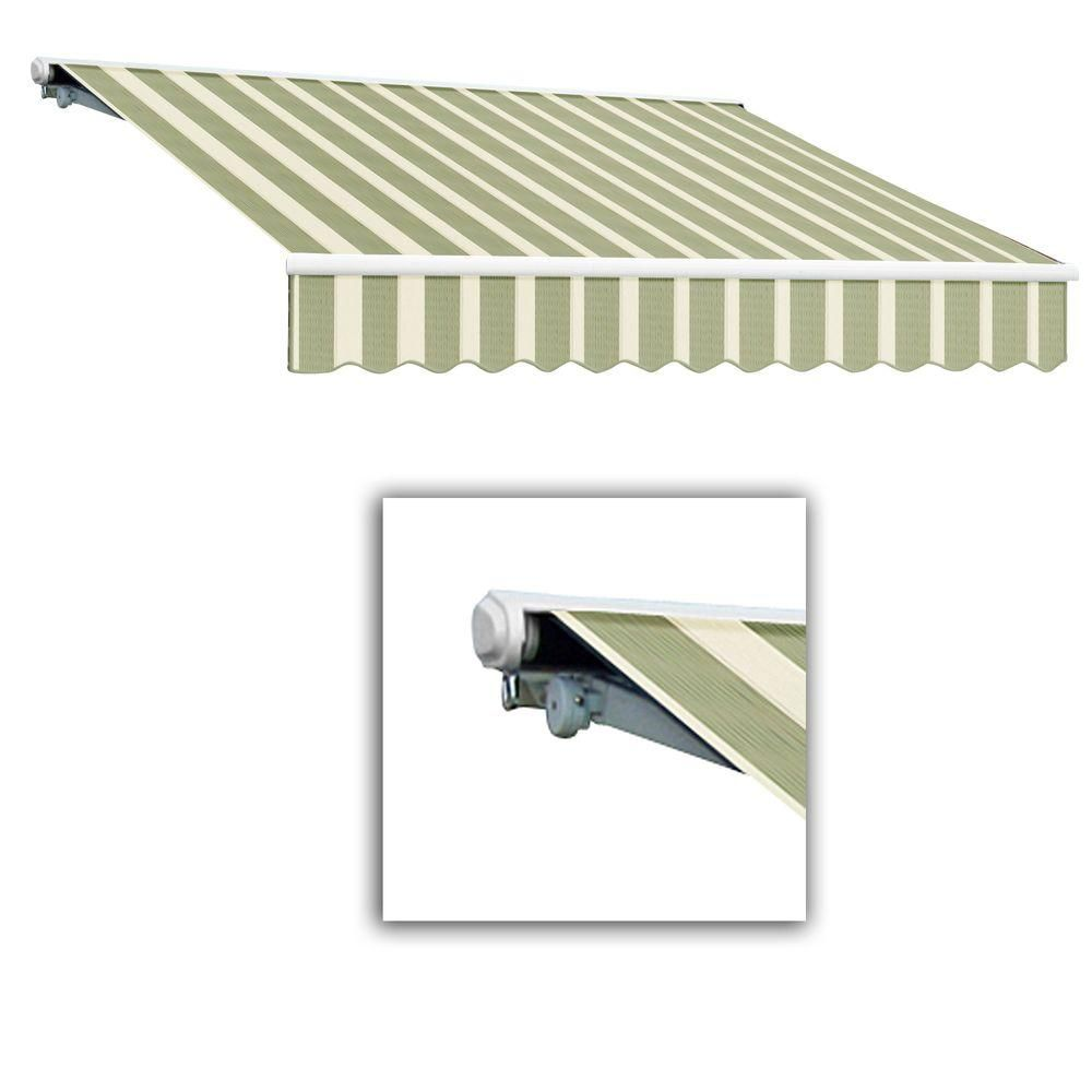 Awntech 24 Ft Galveston Semi Cassette Right Motor With Remote Retractable Awning 120 In Projection In Products Retractable Awning Deck Awnings Fabric