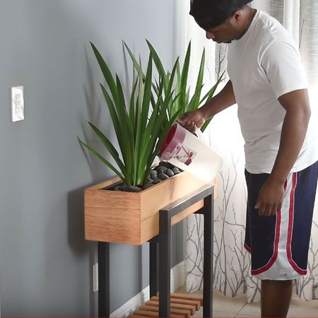 Your Modern Planter Is Now Ready For Use Be Sure To Select The Right Type Of Plants For The Setting House Plants Decor Modern Planters Modern Planters Indoor