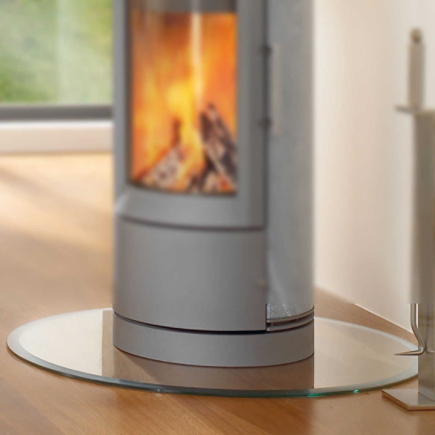 Stove - GLASS HEARTH PAD: CIRCULAR 91-84800 Glass Hearths Pinterest